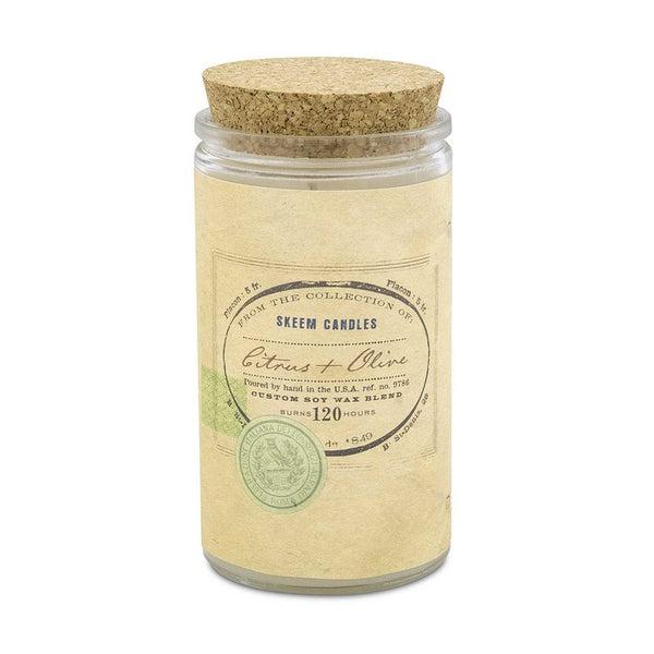 Citrus & Olive Field Jar Candle - Large