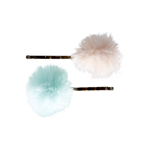 Bobby Pin Set Powder/Mint