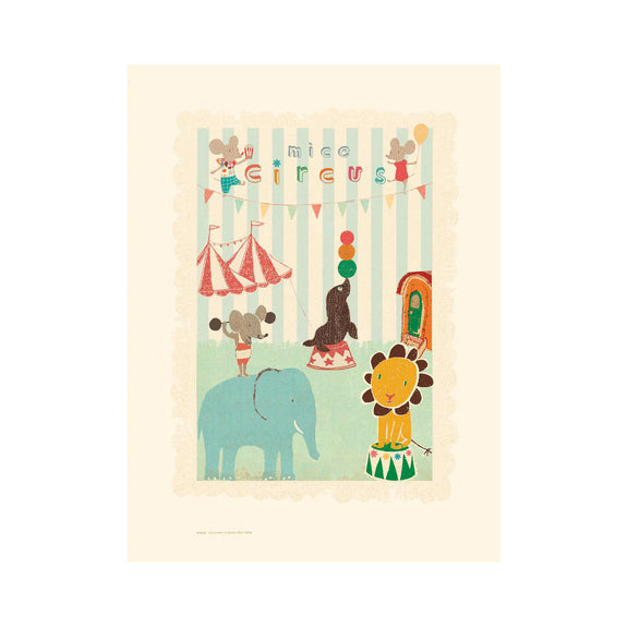 Circus Mouse and Friends Poster