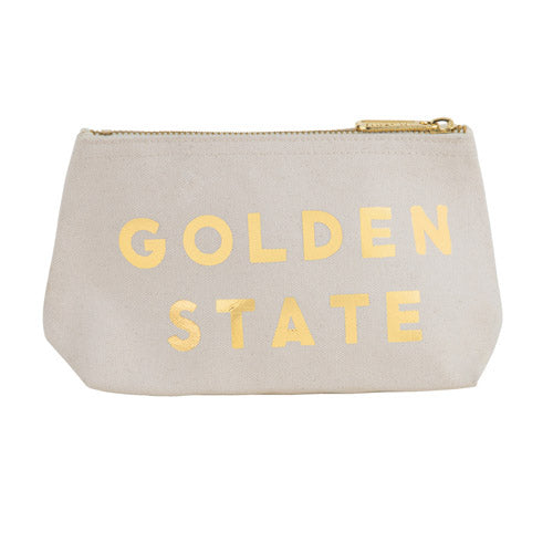 Golden State Zip Pouch