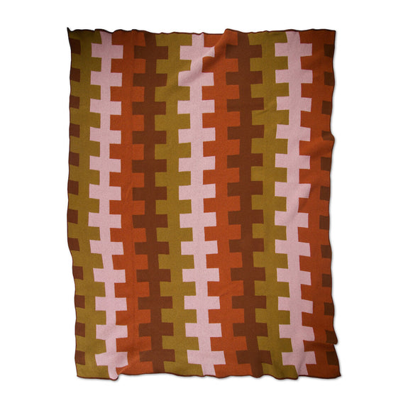 Harmony Ochre Petal Throw