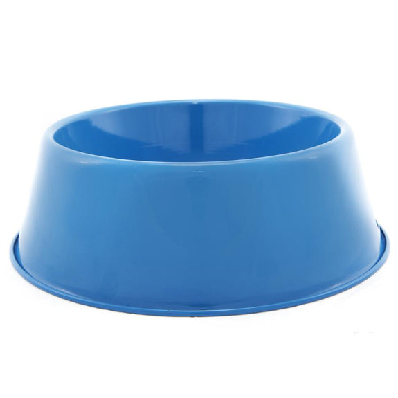 Blue Enamelware Dog Bowl 36 oz