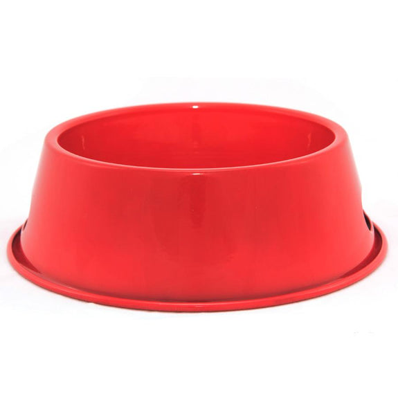Red Enamelware Pet Bowl 12 oz