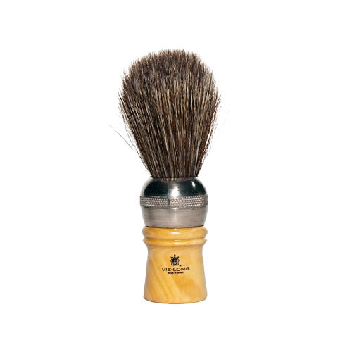 Metal & Horse Hair Shave Brush