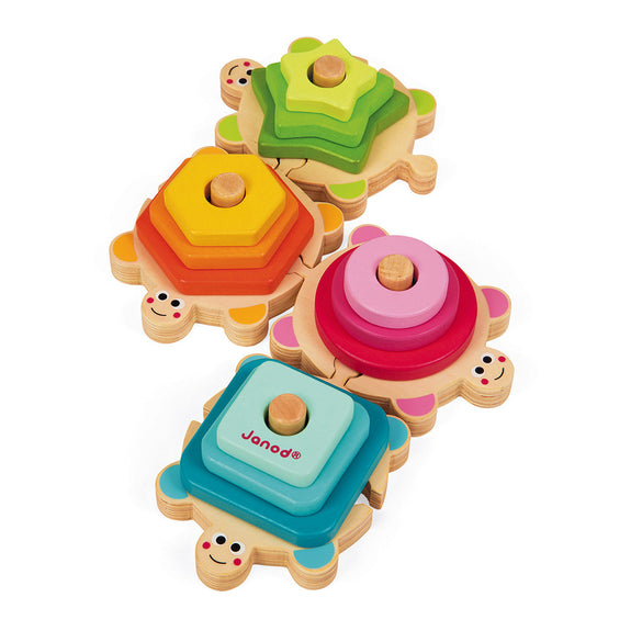 I Wood Stackable Turtles