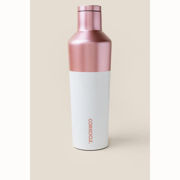 Corkcicle Canteen - 25oz. - Modern Rose