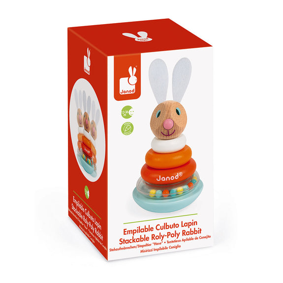 Lapin Stackable Roly-Poly Rabbit
