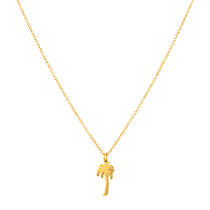 Palm Tree Cali LN Necklace