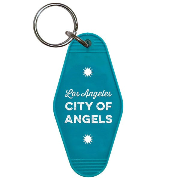 Key Tag Keychain - LA City of Angels