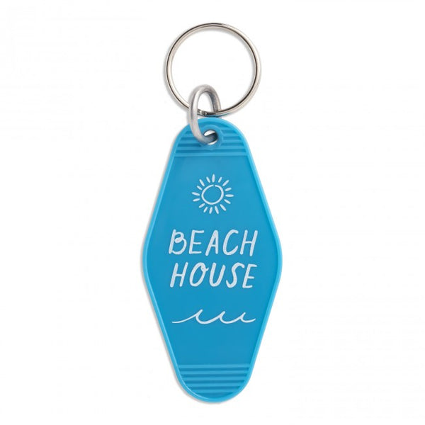 Key Tag Keychain - Beach House