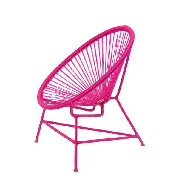 Senegal Nest Egg Child's Chair - Fuchsia