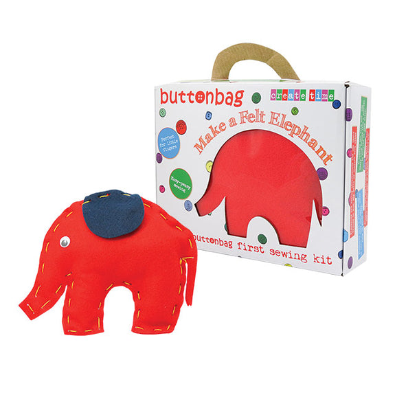 First Sewing Kit Elephant