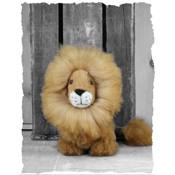 Alpaca Lion Small