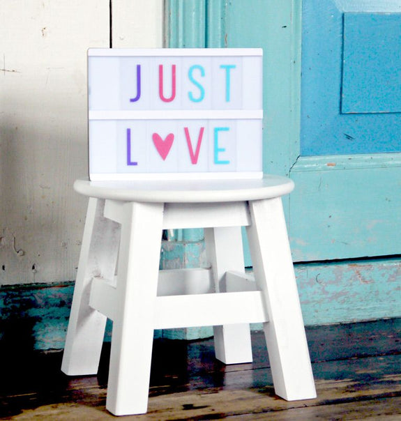 Lightbox Letter Set Pastel