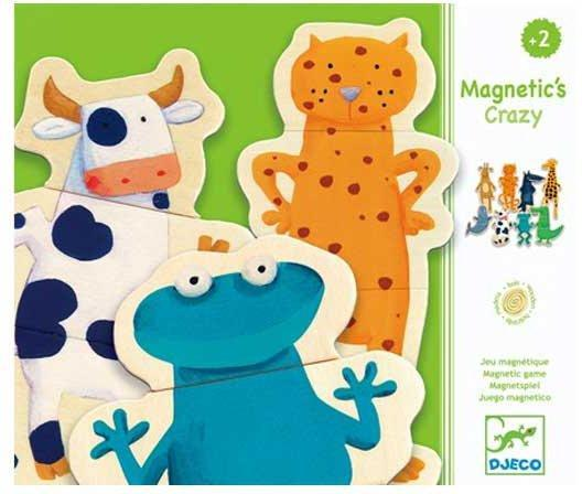 Djeco Magnetics Crazy Animals