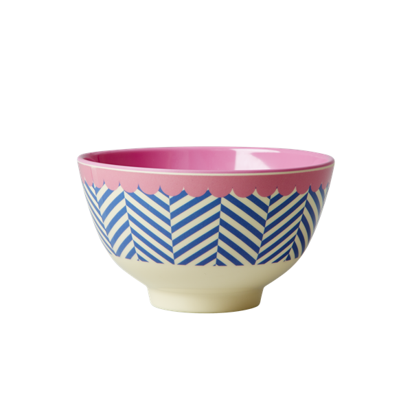 Melamine Bowl Sailor Strip