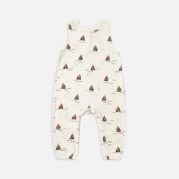 Mills Jumpsuit - Sailboat