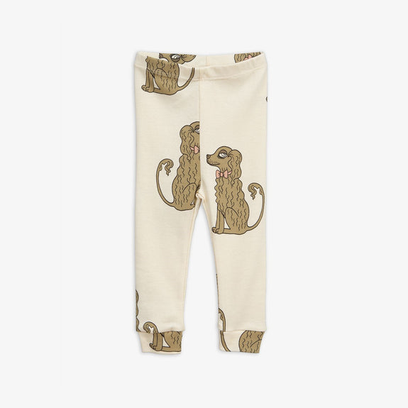 Spaniel Leggings Off-White