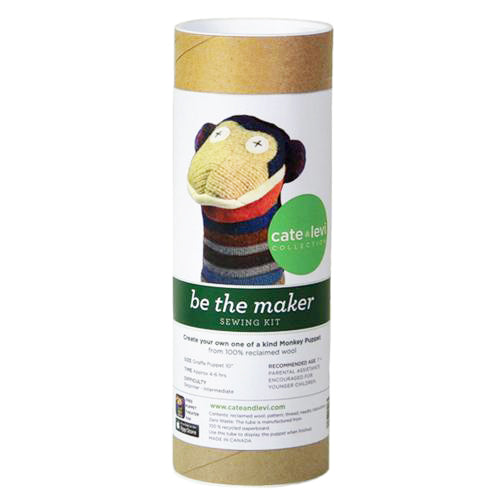 Monkey Puppet Making Kit