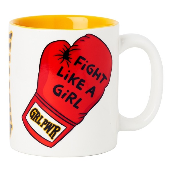 Ceramic Mug Fight Like A Girl