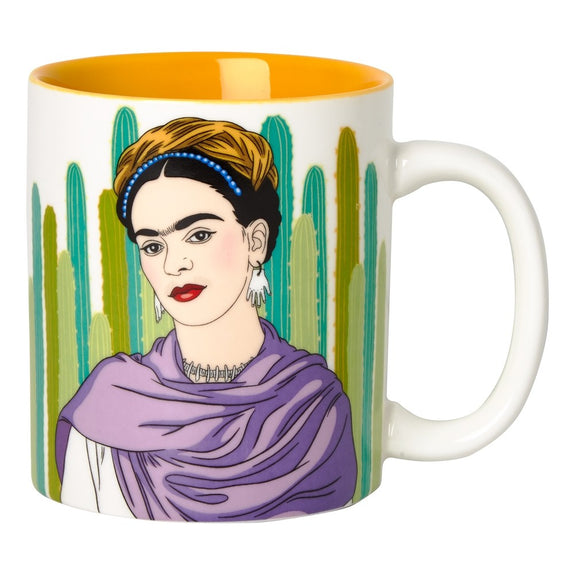 Ceramic Mug Artista Frida with Cacti