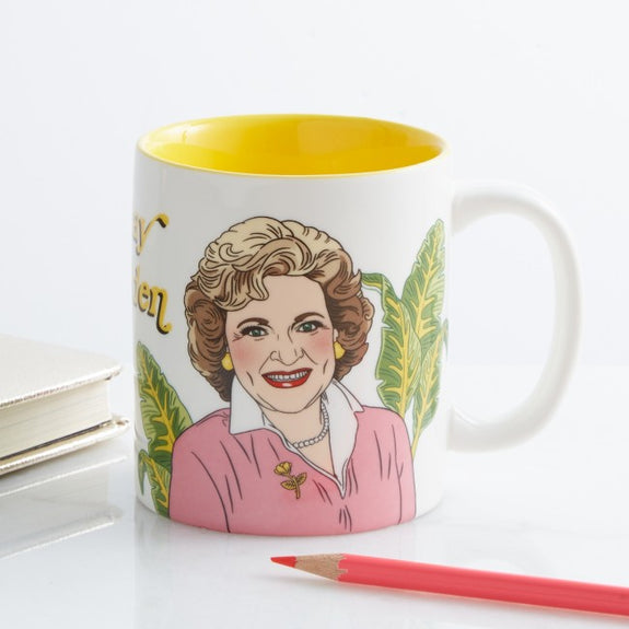 Ceramic Mug Betty Golden