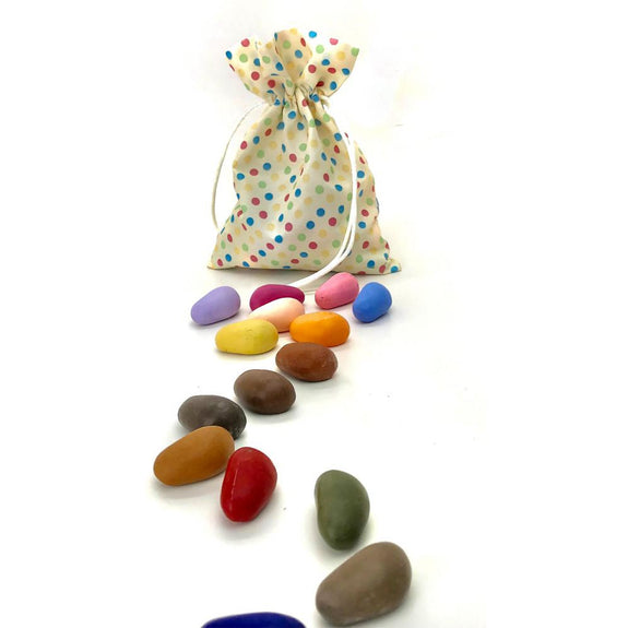Crayon Rocks 16 colors (Polka Dot)