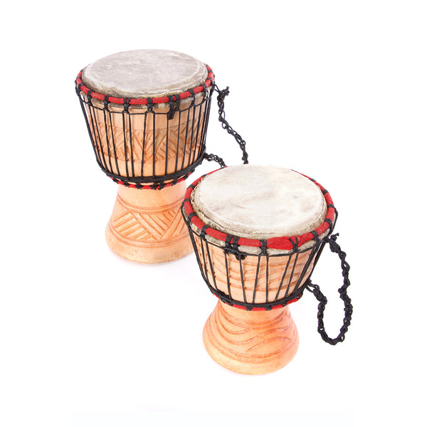 Small All Natural Ghanaian Djembe Hand Drum