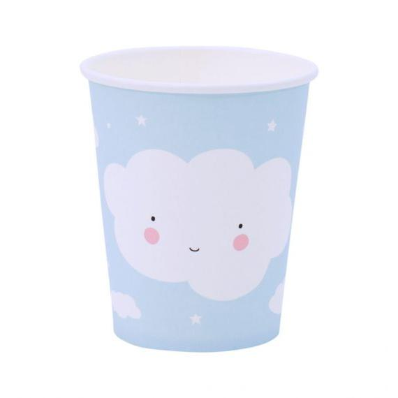 Cloud Paper Cups Set of 12