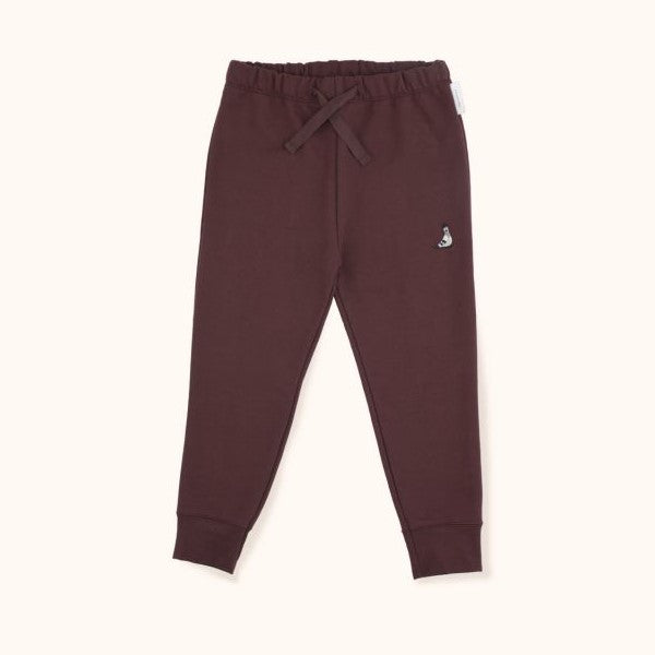 Pigeon Graphic Pant Plum