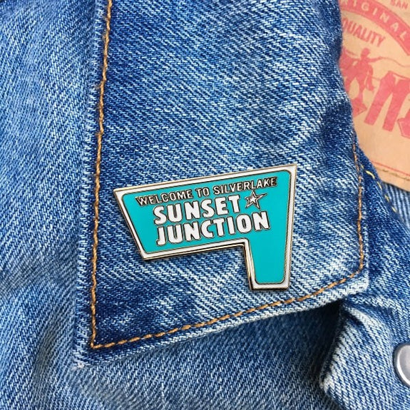 Enamel Pin - Sunset Junction