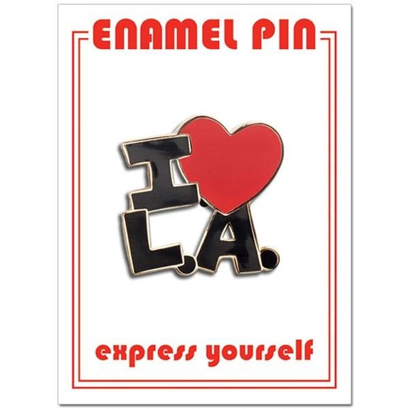 I Heart LA Enamel Pin