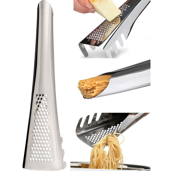 All-in-One Pasta Server and Parmesan Grater and Measure