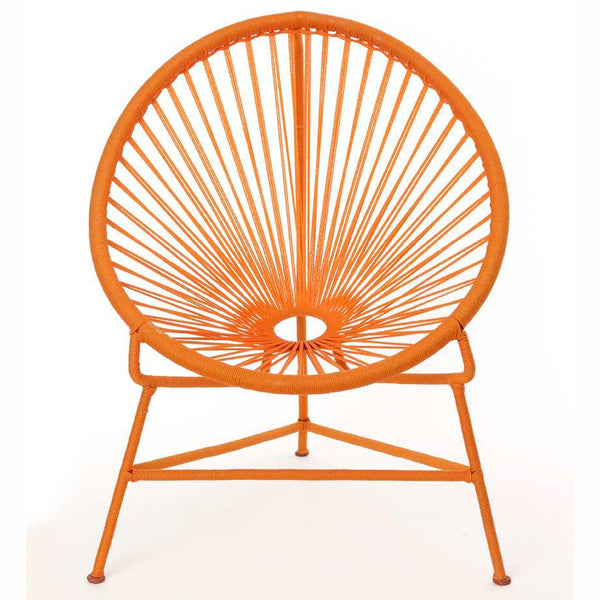 Senegal Nest Egg Child's Chair - Orange