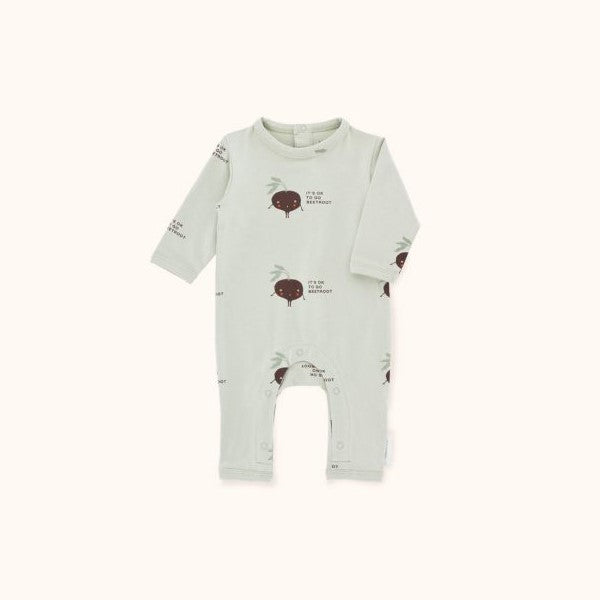Shy Beetroot LS One-Piece Pistacho/Plum