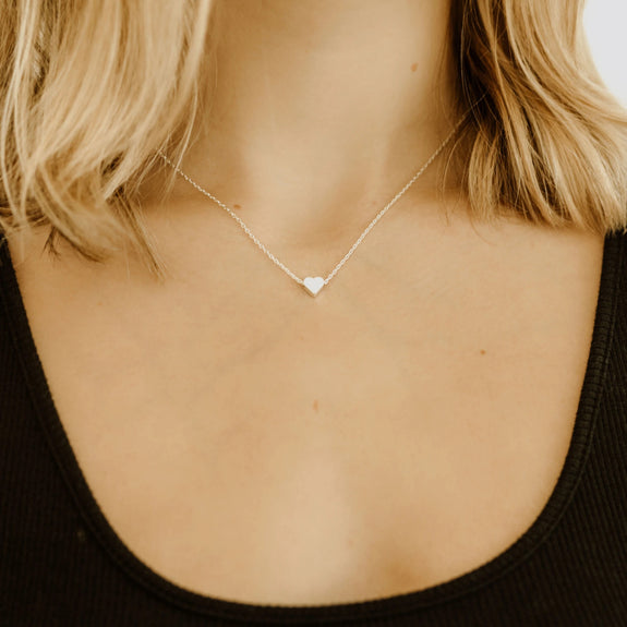 Harlow Small Heart Necklace