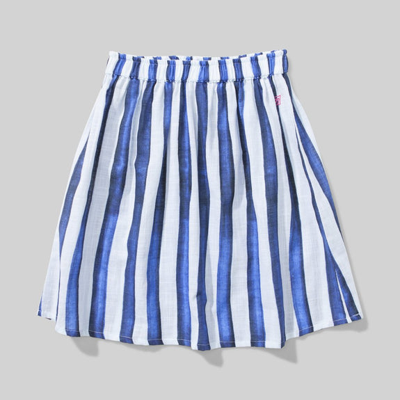 Soul Skirt Blue Stripe
