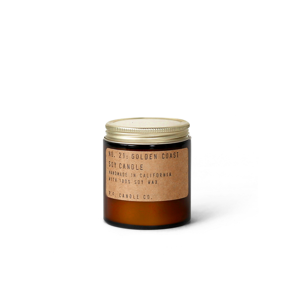 No. 21: Golden Coast Soy Candle