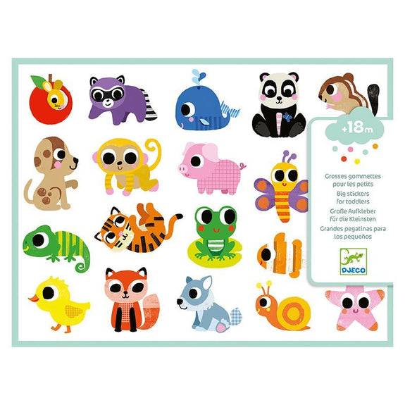 Djeco Stickers - Baby Animals