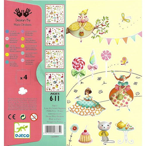 Princess Tea Party Stickers