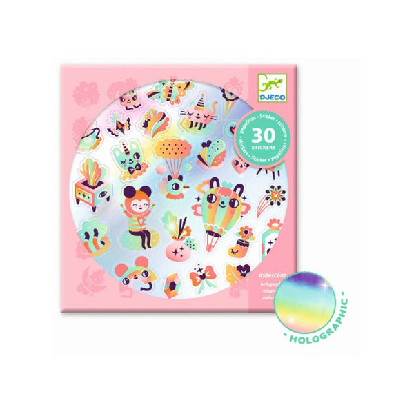 Djeco Stickers - Lovely Rainbow
