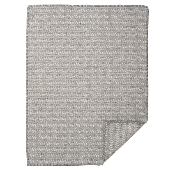 Sumba Eco Wool Baby Blanket Grey