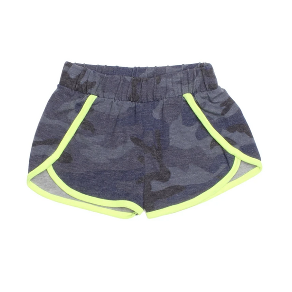 Surf Camo Shorts - Blue