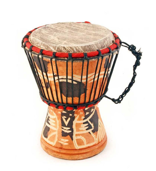 Ghanaian Djembe Hand Drum - Small