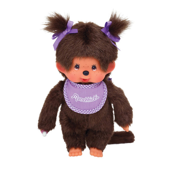 Monchhichi Girl - Purple