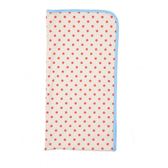 Farmer Boy Blanket Red Dots
