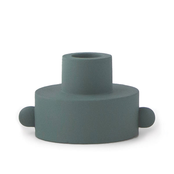 Green Dual Function Taper Tealight Holder
