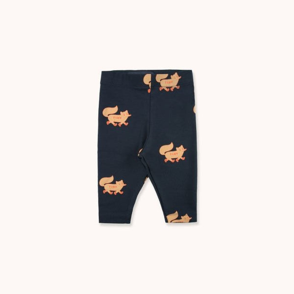 Foxes Pant Navy Camel