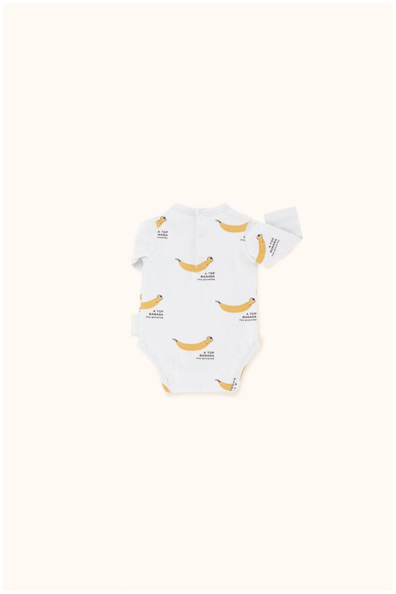 Top Banana LS Body Light Grey/Sand