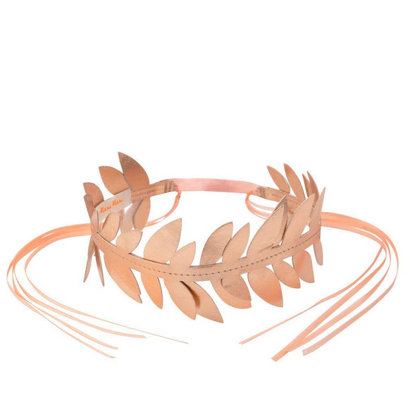 Rose Gold Laurel Wreath Crown